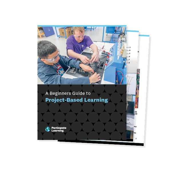 Image of the project based learning booklet